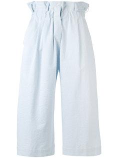 укороченные брюки в полоску Vivetta