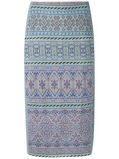 knitted pencil skirt Cecilia Prado