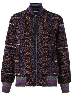 knitted bomber jacket Cecilia Prado