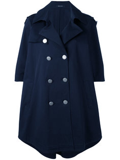 двубортное пальто-кейп Tagliatore