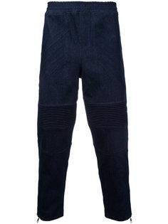 укороченные байкерские брюки Neil Barrett