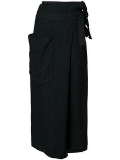брюки с высокой талией с поясом Osklen