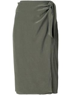юбка с запахом на завязке Osklen