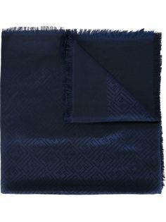 шарф с жаккардовым узором логотипа Fendi