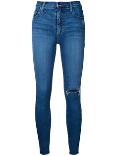 Cult Skinny Ankle Disheveled Nobody Denim