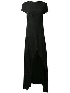 платье-футболка с шлицами спереди A.F.Vandevorst