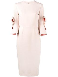 платье с банками Lavette Roksanda