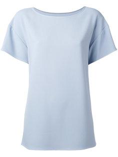 футболка с вырезом-лодочкой Dolce & Gabbana