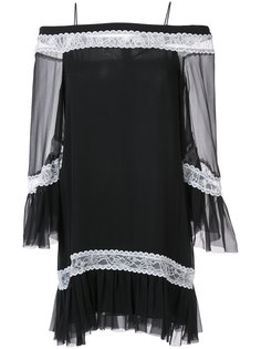 off shoulder tunic dress Alice+Olivia