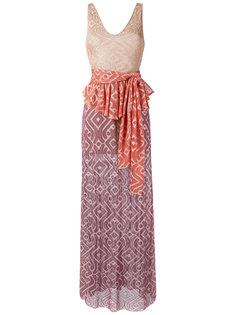 knit gown Cecilia Prado