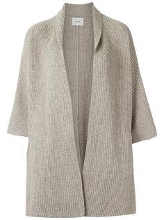 knit cape Egrey