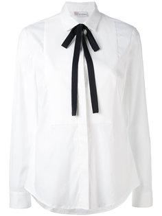 рубашка с завязками на шее Red Valentino