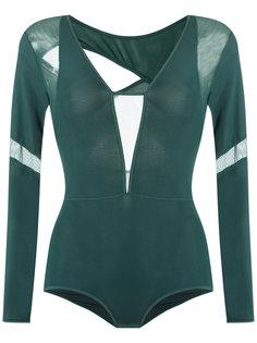 long sleeves bodysuit Giuliana Romanno