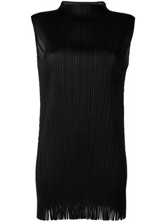 pleated long top Pleats Please By Issey Miyake