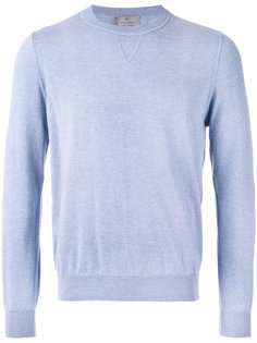 ribbed trim sweatshirt  Canali