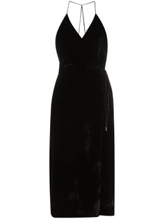 midi velvet dress Osklen