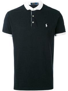 футболка-поло с вышивкой логотипа Polo Ralph Lauren