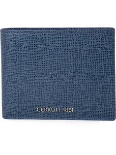 кошелек с логотипом на бляшке Cerruti 1881