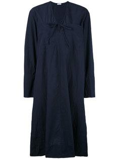 платье свободного кроя с V-образной горловиной Tomas Maier