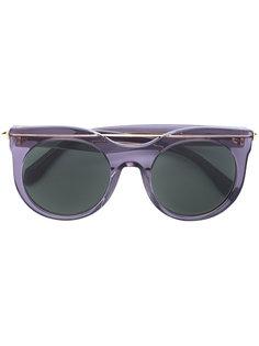 солнцезащитные очки в круглой оправе Alexander McQueen