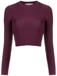 knit crop top Cecilia Prado