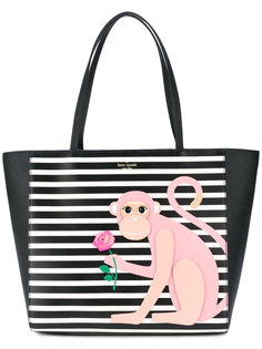 monkey print shoulder bag  Kate Spade