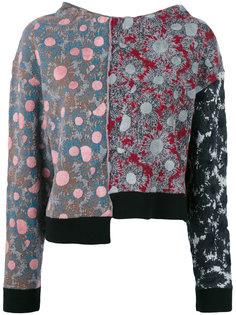 жаккардовый свитер с принтом Maglia Marni
