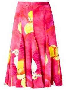 silk printed skirt Isolda