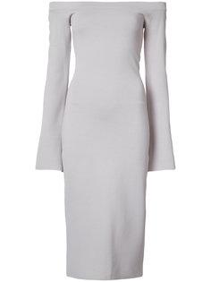 off shoulder dress Rebecca Vallance