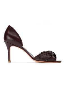 leather pumps Sarah Chofakian