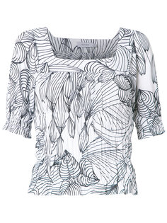 printed blouse Isolda