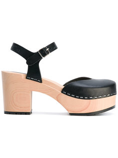 ankle length sandals  Swedish Hasbeens