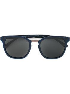 солнцезащитные очки в объемной оправе Cerruti 1881