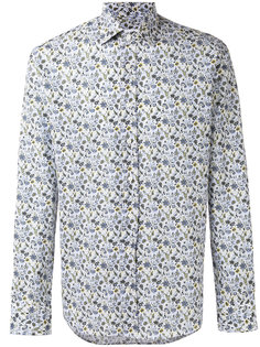 рубашка с цветочным принтом Etro