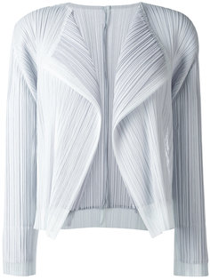 pleated cropped jacket Pleats Please By Issey Miyake