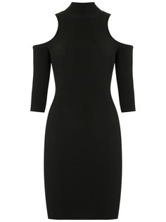 cold shoulder knit dress Cecilia Prado