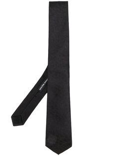 жаккардовый галстук с черепами Alexander McQueen