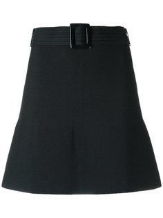 knit A-line skirt Egrey