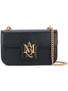 сумка-сэтчел с логотипом Alexander McQueen