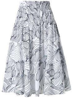 printed skirt Isolda