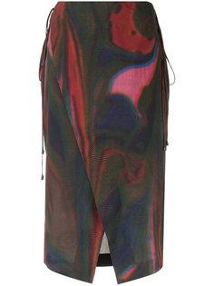 midi printed skirt Osklen