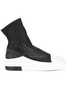 pull-on hi-top sneakers  Cinzia Araia