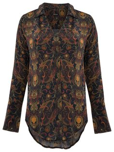 paisley silk shirt Osklen
