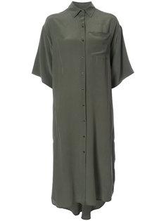 длинное платье-рубашка Osklen