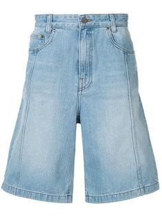 washed denim shorts Juun.J