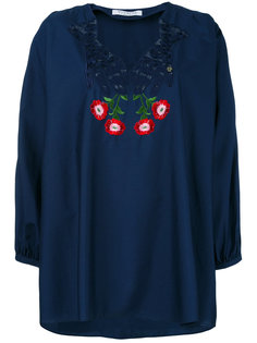 floral embroidered blouse Vivetta