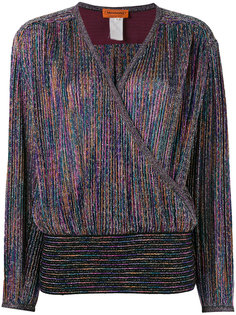 v-neck top Missoni Vintage