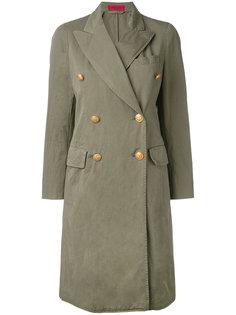 double-breasted coat  The Gigi