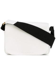 сумка на плечо с контрастным ремешком Victoria Beckham