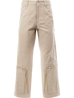 zip detail trousers  Undercover